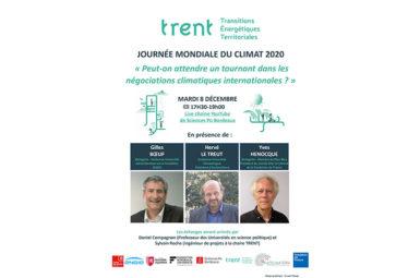 Table-ronde«Peut-on attendre un tournant dans lesnégociations climatiques internationales ? », 8 décembre