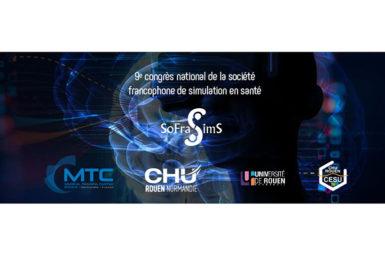 Participation au congrès de la Société Francophone de Simulation en Santé (SoFraSimS)